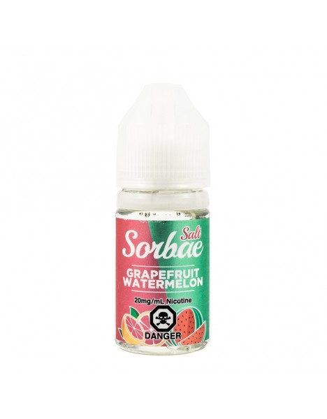 Sorbae Salts Grapefruit Watermelon