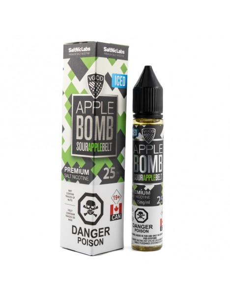 VGOD SaltNic Apple Bomb ICED